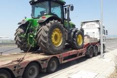 Транспорт на големи трактори